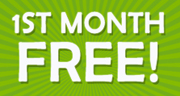 1st month free on self storage units