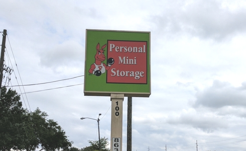 Personal Mini Storage facility at Lake Davenport Blvd
