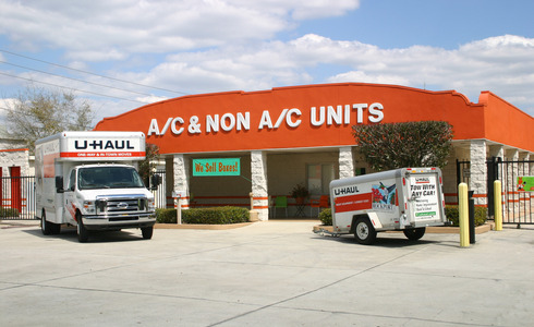 Sign featuring A/C and non A/C units