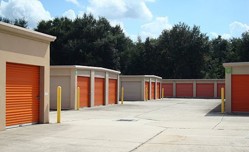 Drive-up self-storage at 800 N Spring Garden Ave