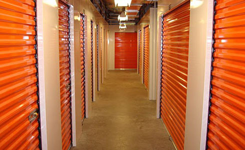 Hallway AC storage units on Commerce Center Dr in St Cloud FL