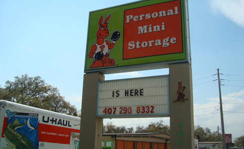 Personal Mini Storage facility at Old Winter Garden Rd