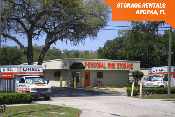 Personal Mini Storage rental office and kiosk