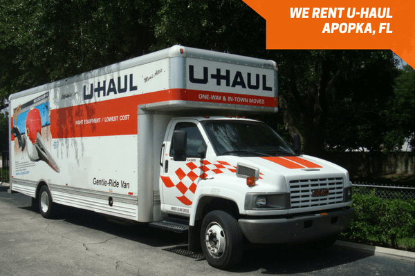 U-Haul truck for rent