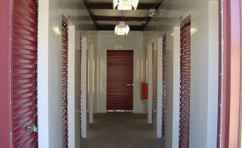 Personal Mini Storage hallway storage units