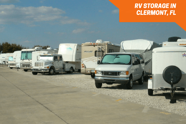 Outside storage for Boats, RVs and Campers