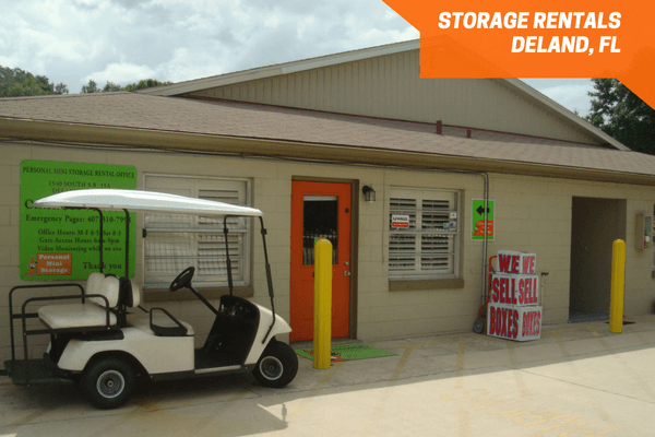 Personal Mini Storage rental office