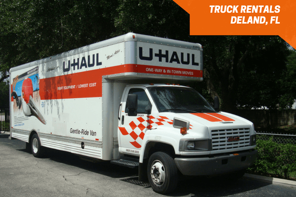 U-Haul moving truck rentals