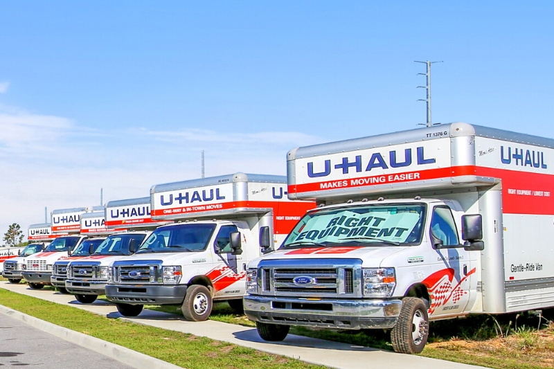U-haul truck rentals available
