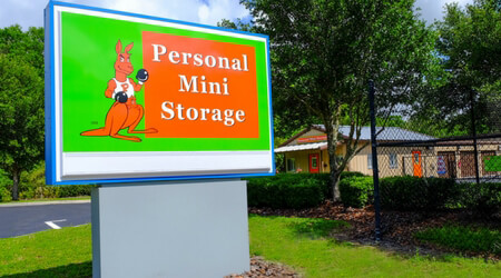 Self-Storage facility located at 8825 NW 13th St. - Gainesville, FL