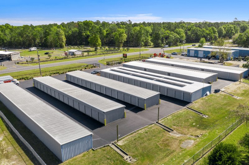 Aerial of storage facility