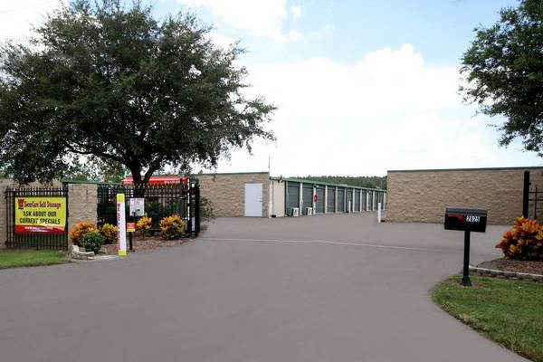 Front view of the facility