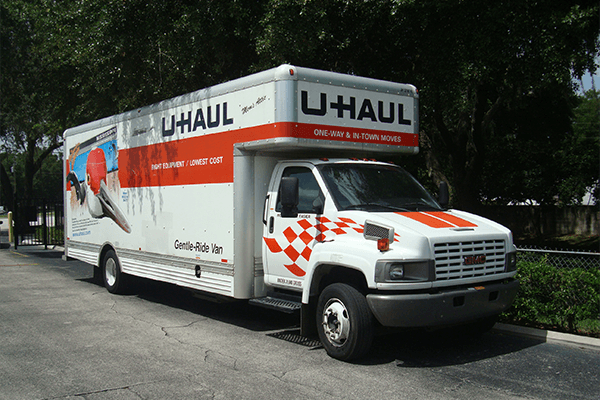 Uhaul truck for rent