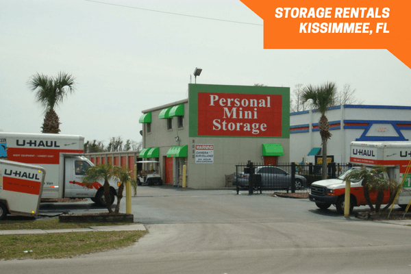 Street view of Personal Mini Storage facility in Kissimmee
