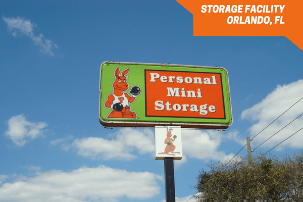 Personal Mini Storage facility on Orange Blossom Trail in Orlando