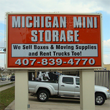 Self-Storage facility located at 200 W Michigan Street - Orlando, FL
