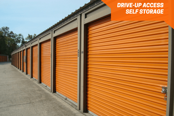 Roll up self storage doors