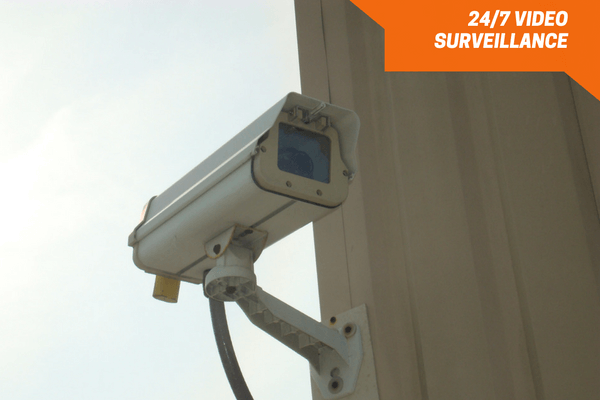 Video recorded surveillance camera