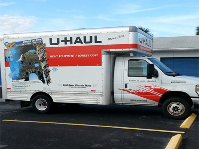 U-Haul truck rental dealership
