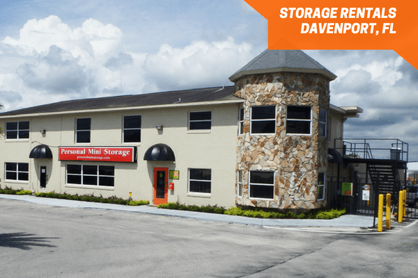 Outside Personal Mini Storage Davenport Facility. Outside Of The Gate Near  The Rental Office