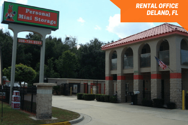 Storage facility rental office