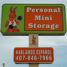 Self-Storage facility located at 608 W. Vine St - Kissimmee, FL