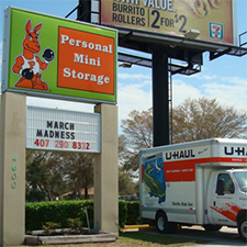 Self-Storage facility located at 4600 Old Winter Garden Road - Orlando, FL