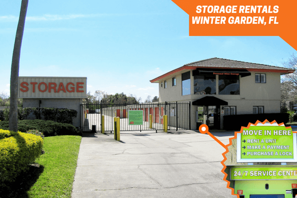 Winter Garden Fl Self Storage W Colonial Dr 34787