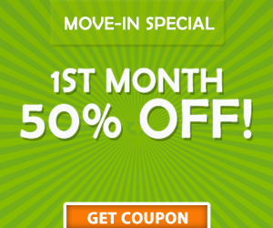 Highway 50 - Clermont storage move-in coupon