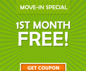 Clearwater storage move-in coupon